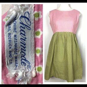 Vintage baby doll Floral mini dress